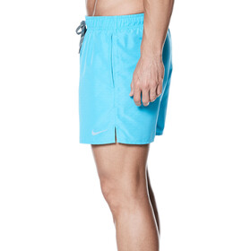 """Nike Swim Core Emboss 4"""" Volley zwembroek Heren blauw"""